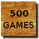 500 Games Played